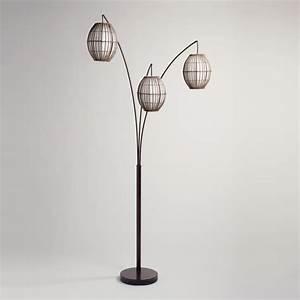 tiki arc spheres floor lamp floor matttroy With paper floor lamp world market