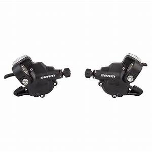 Sram X3 Bicycle Trigger Shifter Set 3 X 7 Speed X 3 Left
