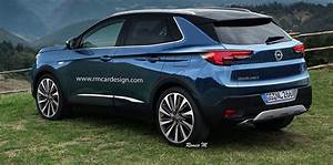 Opel Grand Land X : 2017 opel grandland x rendered upcoming small suv imagined ~ Medecine-chirurgie-esthetiques.com Avis de Voitures