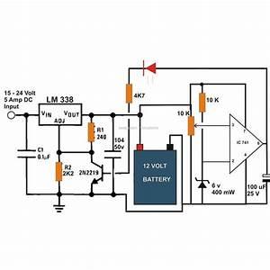 6v  12v  24v Battery Charger Circuit