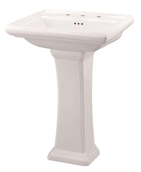 gerber brianne pedestal sink logan square 4 quot centers pedestal bathroom sink