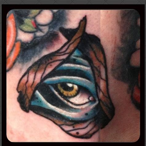 Eyeball Tattoo On Hand