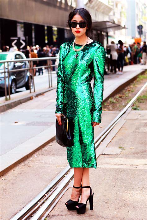 Street Style Green Outfits 2018 | FashionGum.com