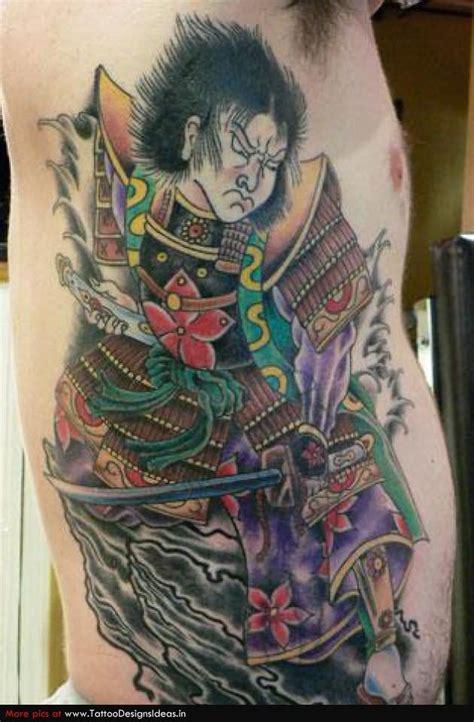 awesome samurai tattoos
