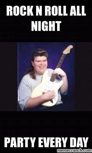 Roll Meme - rock n roll