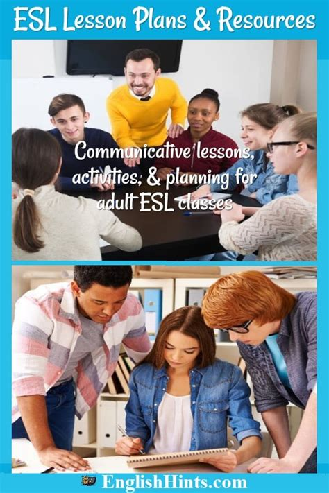 esl lesson plans  teachers
