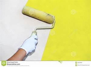 peindre un mur au pinceau choosewellco With peindre un mur au pinceau