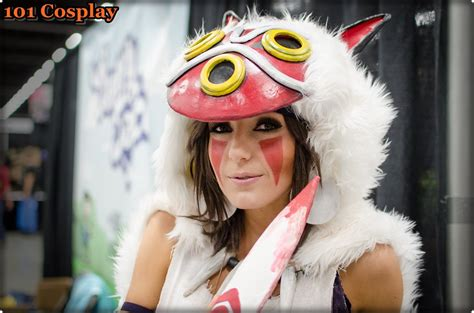 Jessica Nigri Cosplaying Princess Mononoke 101 Cosplay