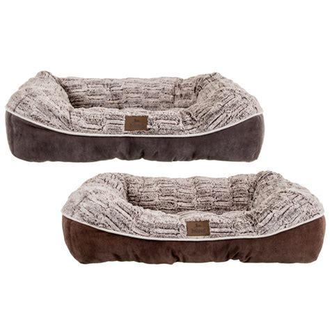 Hund Square Nuzzle Dog Bed   Pets   Dog Beds & Bedding   B&M