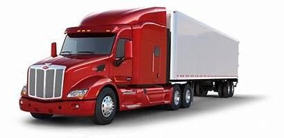 Truck Transparent Clipart Background Peterbilt Vector Wheeler