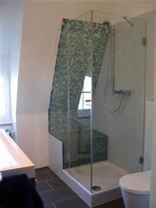 Dachschräge Dusche Verkleidung : pramos glaselemente ganzglasduschen spiegel ~ Michelbontemps.com Haus und Dekorationen