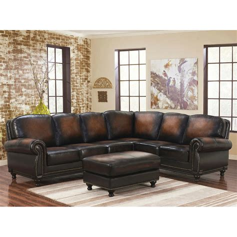 Real Leather Sectional Sofa Cleanupfloridacom
