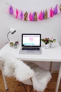 DIY Party Girlande aus Seidenpapier selber machen