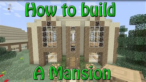 How To Build A Mansion  Minecraft Xbox 360 Edition Youtube