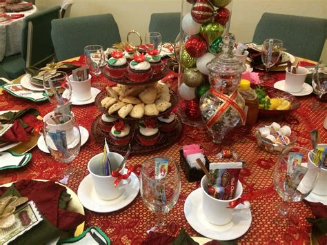 christmas tea party table decorations my diy projects