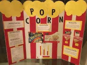 Science Fair Project Popcorn 5th Grade