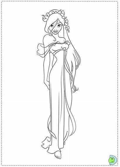 Coloring Pages Enchanted Disney Princess Giselle Hipster