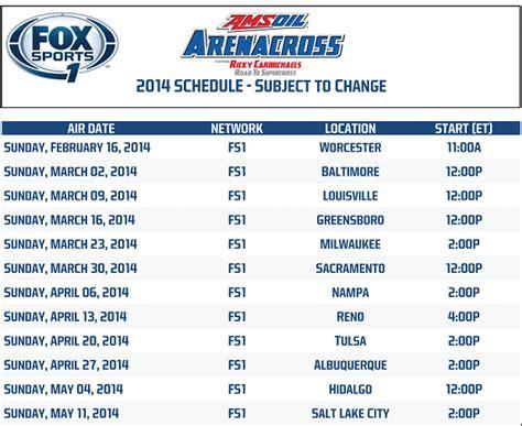 lucas oil ama motocross tv schedule image gallery 2014 supercross schedule