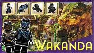 LEGO Marvel 2 Black Panther Level DLC Pack Revealed ...