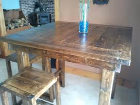white pub style table diy projects