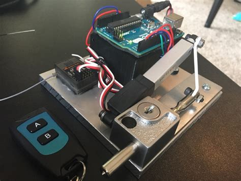 automatic door locks automatic door lock by johnny lawrence thingiverse