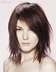Coupe Cheveux Carré Mi Long : coupe de cheveux carre mi long destructure ~ Melissatoandfro.com Idées de Décoration