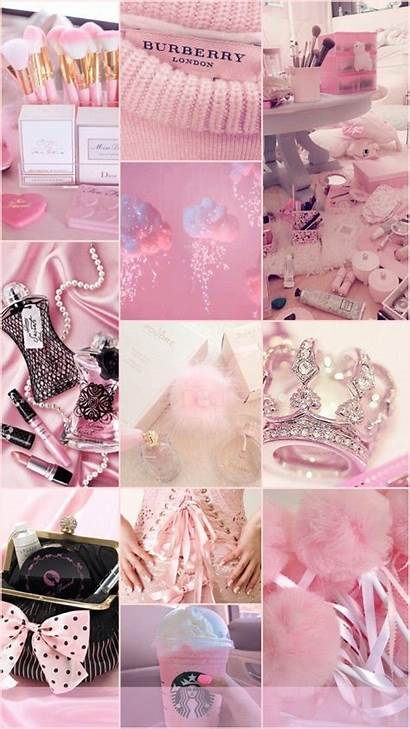 Backgrounds Collage Girly Wallpapers Iphone Aesthetic Pastel