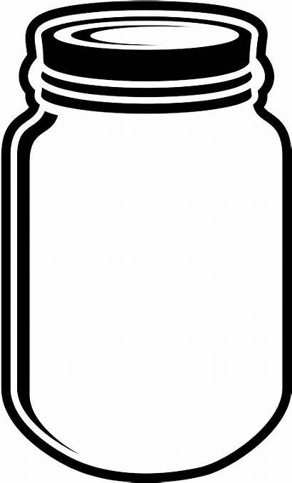 Clipart Jar Mason Transparent Clip Coffee Bow