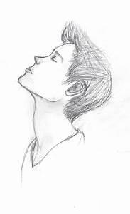 Simple Pencil Drawings Step By Step By Drawing Sad Boy ...