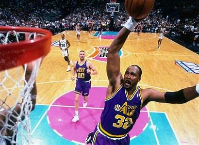 Malone Karl Jazz Utah Nba Basketball Mailman
