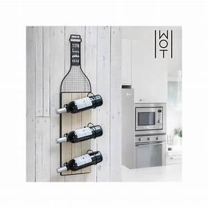 Porte Bouteille Vin : porte bouteilles mural wagon trend wine lovers achat ~ Melissatoandfro.com Idées de Décoration
