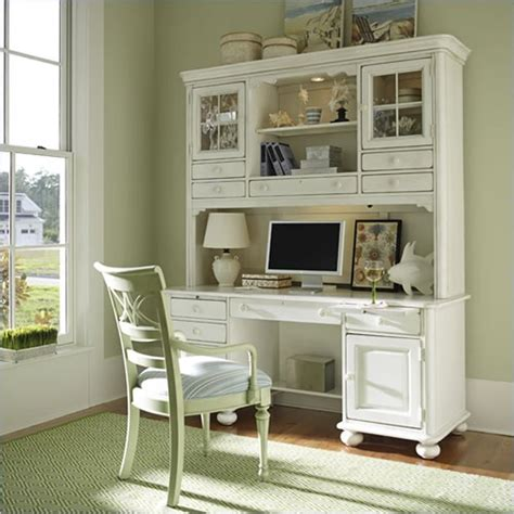 home desk with hutch antique cream computer desk with hutch for home office
