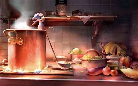 Ratatouille Scene Hd Wallpapers