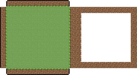 Minecraft Papercraft House 07