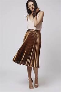 The trendy pleated midi skirts u2013 fashionarrow.com
