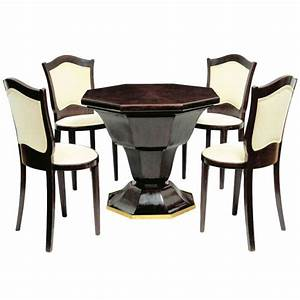 Octagonal Table And Four Chairs Dining Room Sets Room