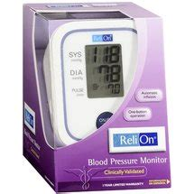 Relion Blood Pressure Monitor - Review | Instructions