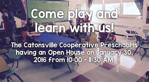 catonsville cooperative preschool 319   open house 2015 0
