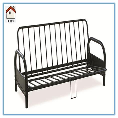 metal futon frame metal frame sofa bed german metal frame sofa bed futon