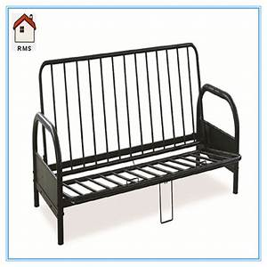 Metal frame sofa bed german metal frame sofa bed futon for Metal frame futon sofa bed