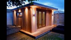 Stunning timber frame garden room build by Planet Design