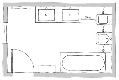 disposizione sanitari bagno disegno disposizione sanitari bagno 8mq arredare con stile