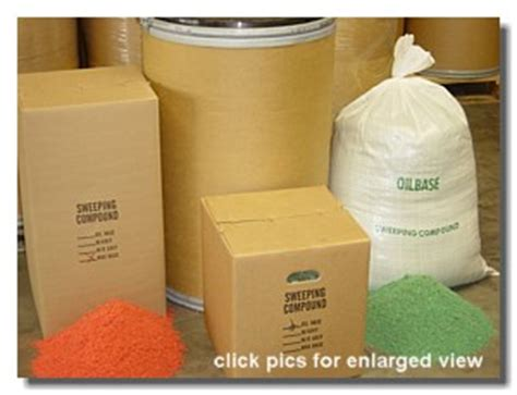 Floor Sweeping Compound Manufacturers by Sweeping Compound Controlbooth
