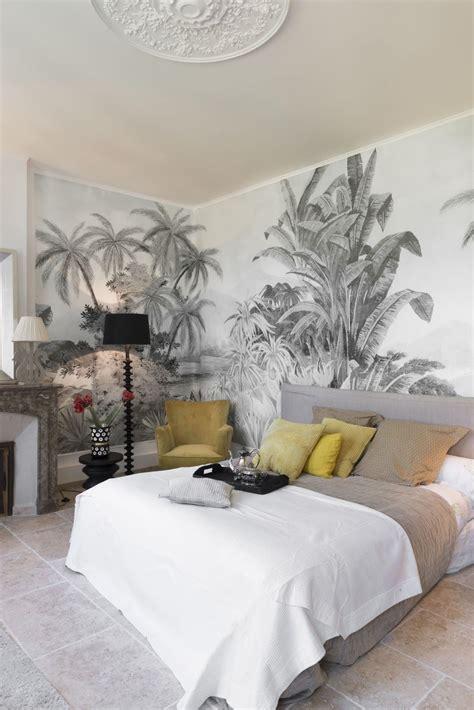 papier peint chambre parentale un papier peint tropical dans la chambre parentale