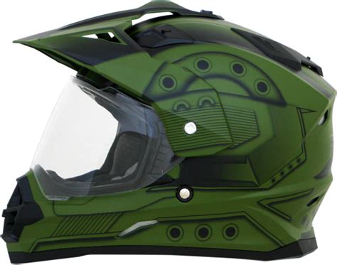 Afx Fx-39ds Fx39 Ds Hero Dual Sport Helmet With Visor And