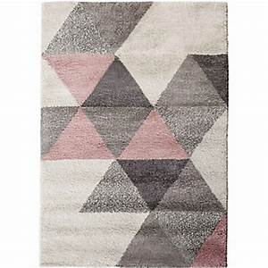 tapis rose et gris idees de decoration interieure With tapis gris et rose