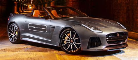 Jaguar F Type Sound by Jaguar F Type Svr Roars Through Nyc Tunnel
