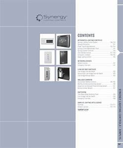 Synergy Lighting Controls Catalog By Alcon Lighting