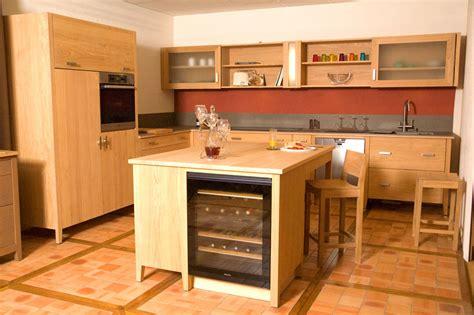 meuble bois cuisine meuble de cuisine en bois