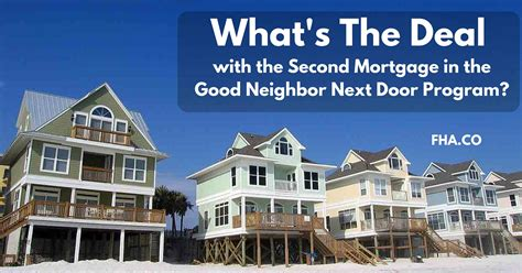 next door program 2018 what s the deal with the second mortgage in the